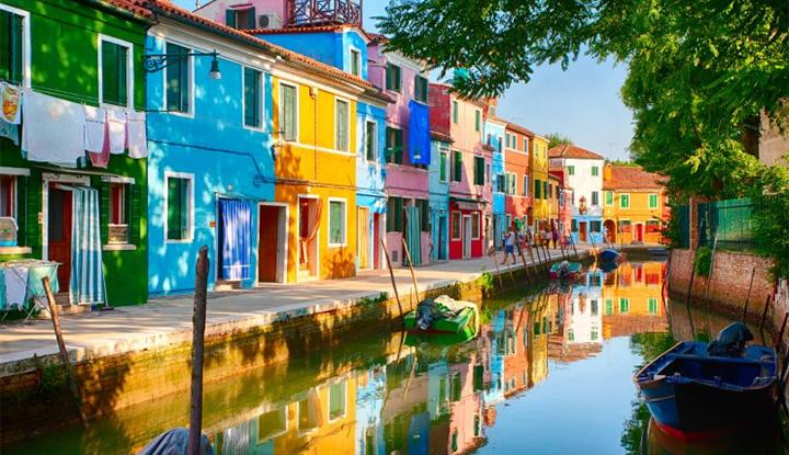 威尼斯Murano彩虹岛