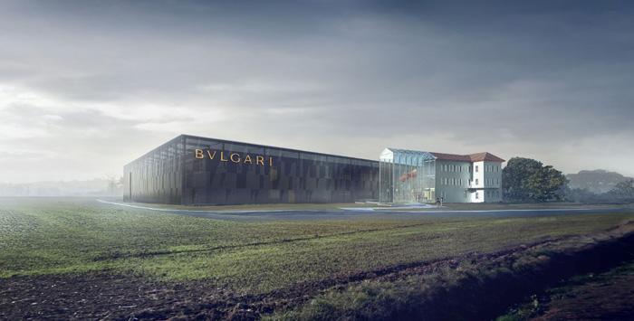 宝格丽在瓦伦扎地区新建的珠宝中心(计划2016下半年启用)